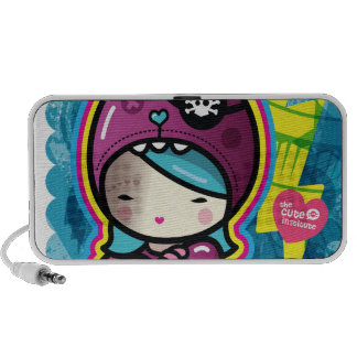 cotton candy mini speaker