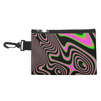 Cotton candy Trippy Abstract Accessories Bags