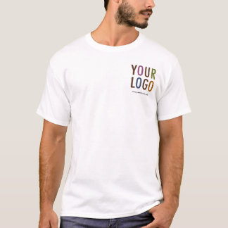 Cotton T-Shirt with Company Logo Multiple Colours