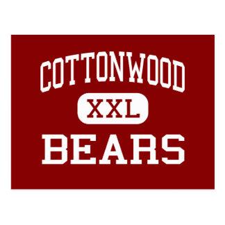 Cottonwood - Bears - High - Cottonwood Alabama Postcard