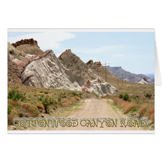 Cottonwood Canyon Road Card