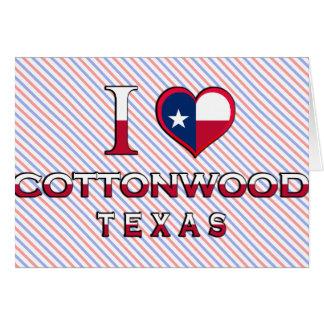 Cottonwood, Texas Card