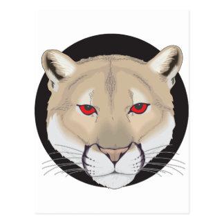 Cougar Art Postcard