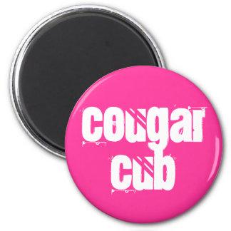 Cougar Cub Magnet