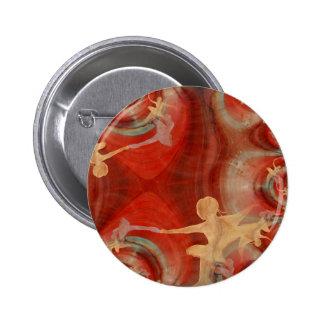 Couleur D'une Danse De Ballet 3 6 Cm Round Badge