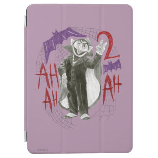 Count von Count B&W Sketch Drawing iPad Air Cover