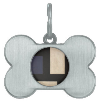 Counter Composition IV by Theo van Doesburg Pet Name Tag