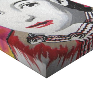'Countess Báthory' Stretched Canvas Print