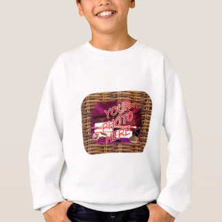 Country Basket Frame Template Sweatshirt