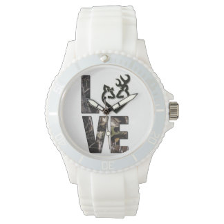 Country Camo Love Women's Watch