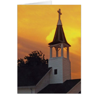 Country Church Note Card