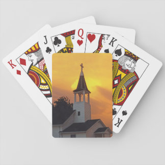 Country Church Poker Cards