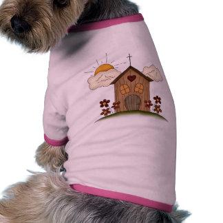 Country Church Ringer Dog Shirt