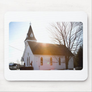 Country church mouse pad