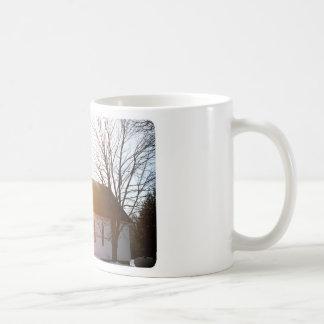 Country church basic white mug