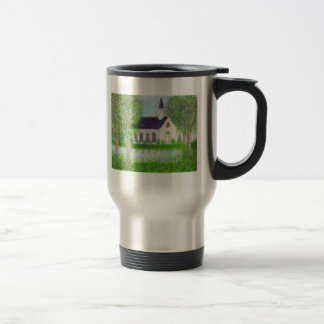 Country Church 15 Oz Stainless Steel Travel Mug