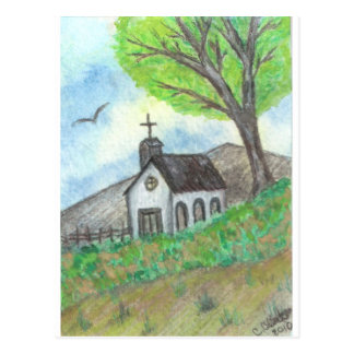Country Church Post Cards