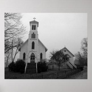 Country Church Print