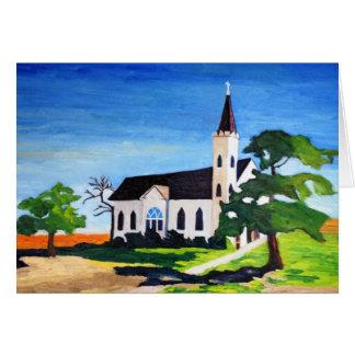 Country Church, Richland, Texas Cards