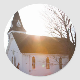 Country church stickers