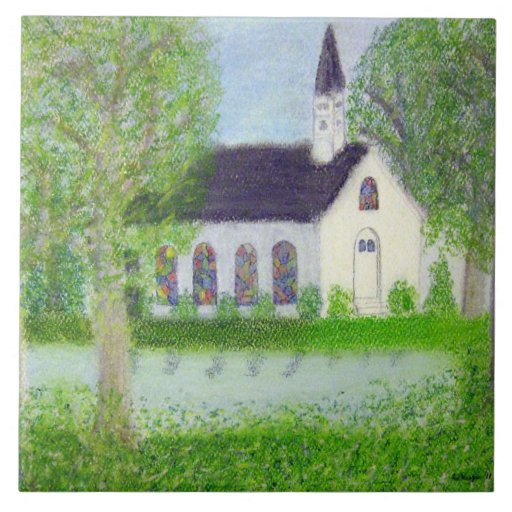 Country Church Tile