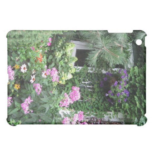 Country Cottage Garden IPad Cover
