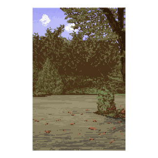country driveway stationery