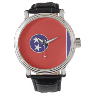 country flag region state united america tennessee wrist watch