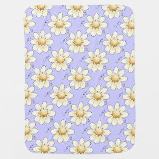 Country Flowers Lilac Unisex Pramblankets