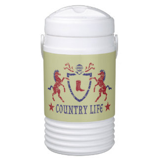 Country Life Igloo Beverage Cooler, Half Gallon Cooler
