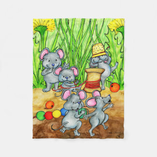 Country Mice Mischief blanket