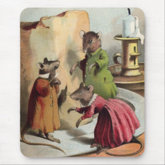 Country Mice Mouse Pad