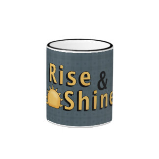 Country Rise & Shine 2 Silly Roosters Coffee Cup Coffee Mug