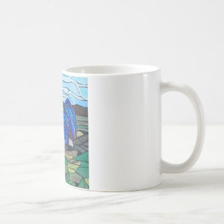 Country rooster coffee mug