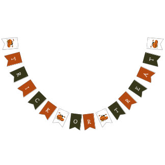 Country Style Halloween Bunting