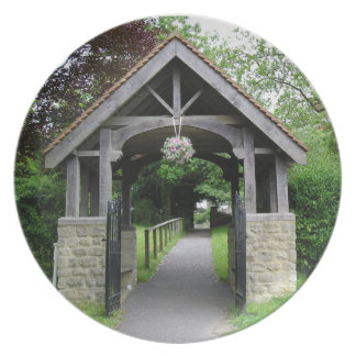 Country Views - Church Archway Party Plate