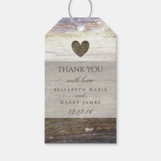 Country Wood Heart Wedding
