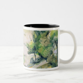 Countryside in Provence Two-Tone Coffee Mug