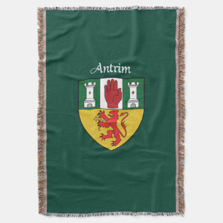 County Antrim Throw Blanket