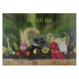 County Fair Vegetable Display Cutting Board