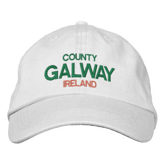 County Galway Ireland Personalized HatCount Embroidered Hat