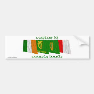 County Louth Flags Bumper Sticker