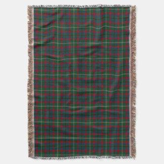 County Mayo Irish Tartan Throw Blanket