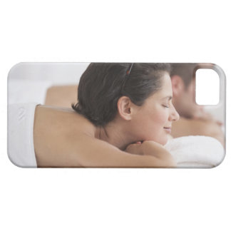 Couple at spa iPhone 5 case