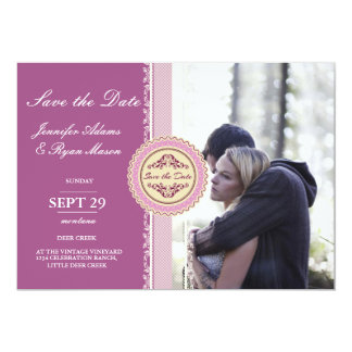 Couple In Love Tenderly Embraces/pink theme Card