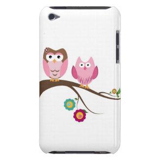 Couple owls iPod Case-Mate case