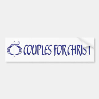 Couples For Christ bumper sticker