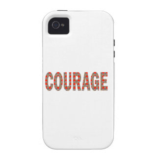 COURAGE: Brave Kind Leader Champion LOWPRICES GIFT Vibe iPhone 4 Case