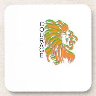 Courage Drink Coaster