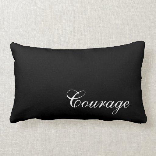 Courage Throw Pillows